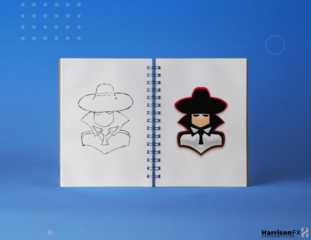 Spy Mascot Design